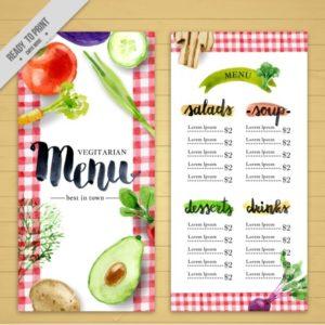 Lựa chọn in menu giá rẻ tại in ấn LVC